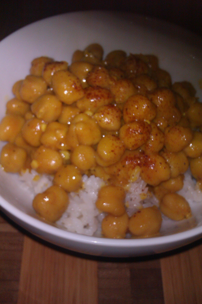 Chana Masala and NaNoWriMo