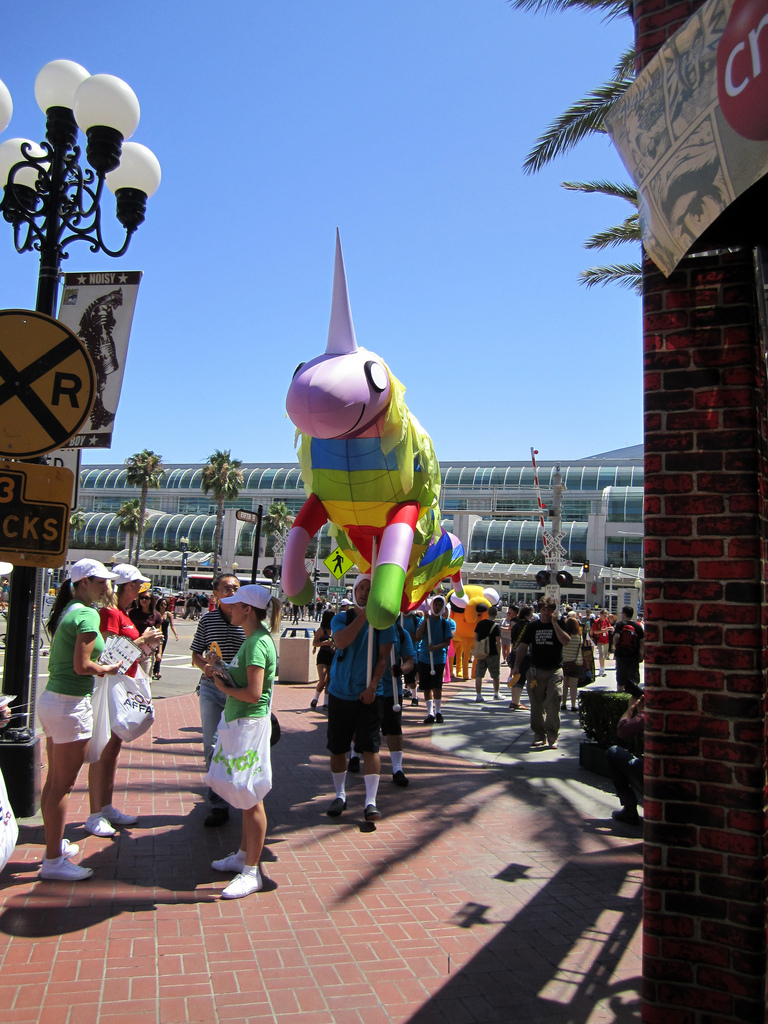 Comic Con Flying Unicorn