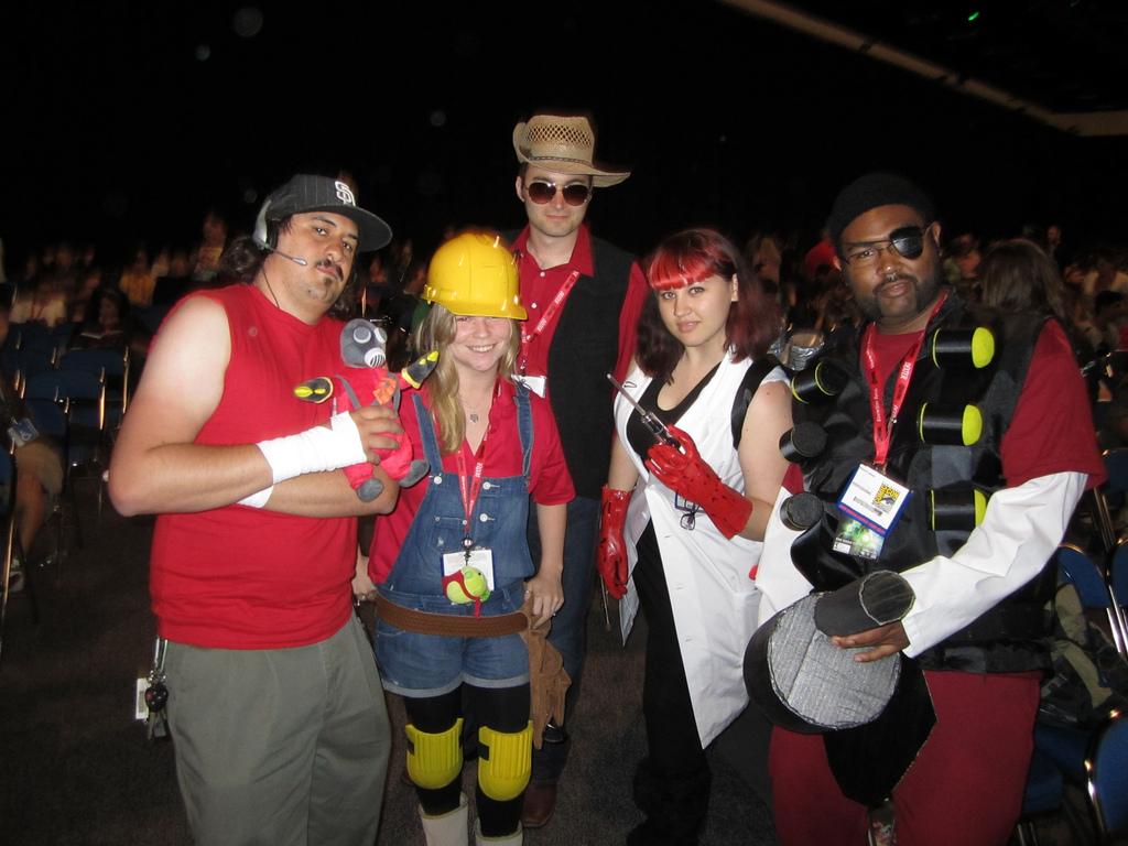 Comic con Team Fortress 2