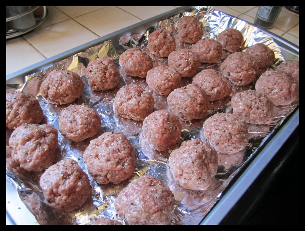 Uncooked Kjøttkaker