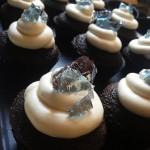 Breaking Bad Cup Cakes - Blue Meth Crystal Cupcake