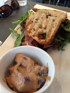 Extraordinary Desserts - Serrano Ham Panini