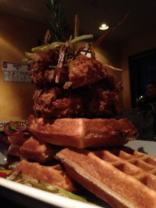 Hash House A Go Go - Chicken and Waffle Tower