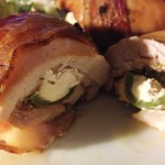 Bacon Wrapped Chicken Stuffed with Jalapeno and Cream Cheese