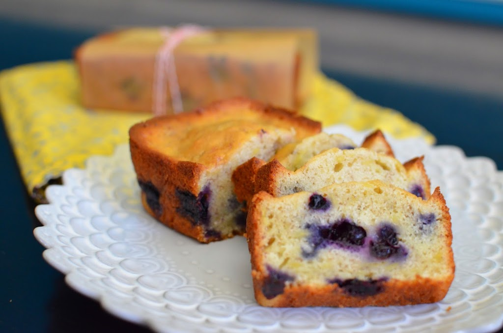 Best Blueberry Banana Bread