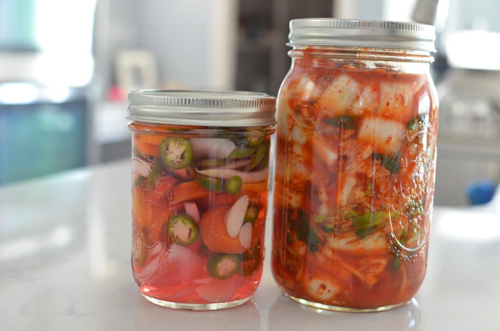 Kimchi and Escabeche