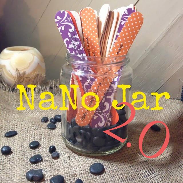 NaNo Prep: NaNo Jar 2.0