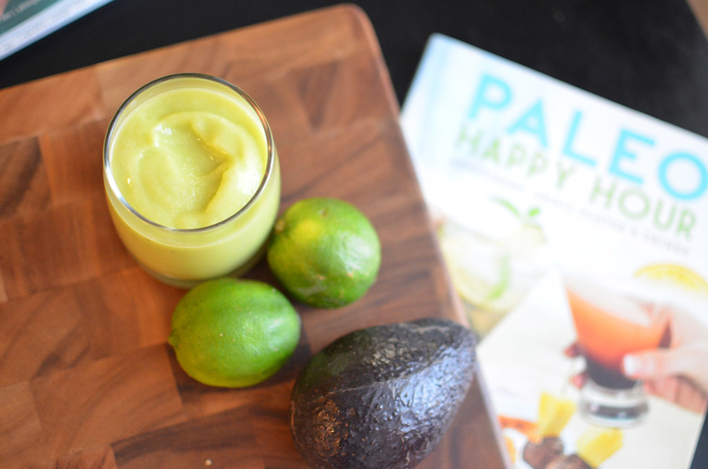 Avocado Margarita – Creamy -100 Days of Cookbooks