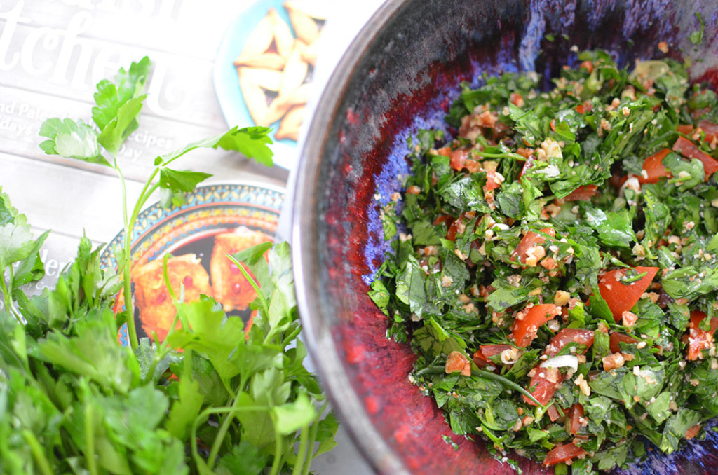 100 Days of Cookbooks: Tabouleh