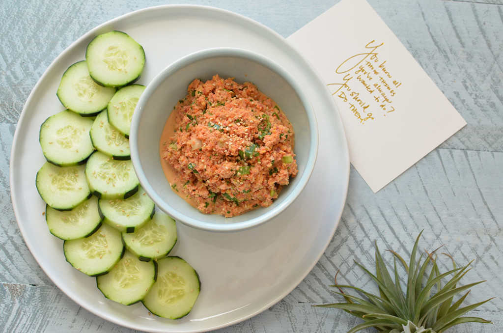 100 Days of Cookbooks: Farmer's Market Carrot Dip