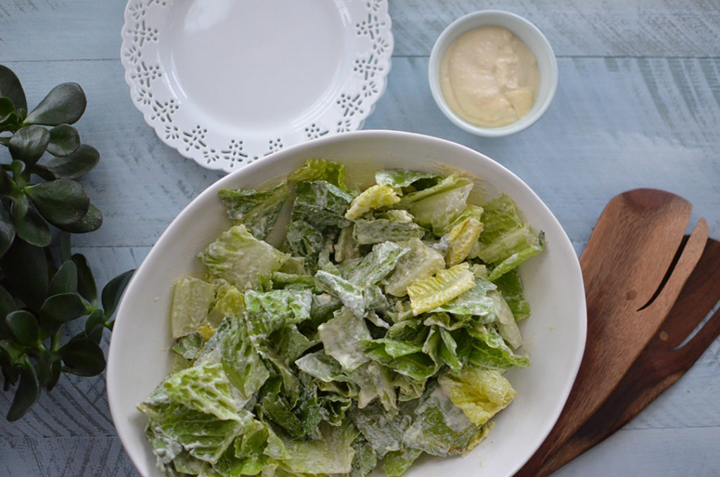 100 Days of Cookbooks: Caesar Dressing