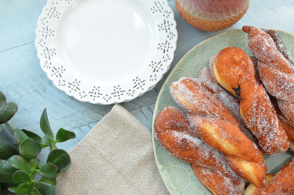 Maangchi's Korean donuts