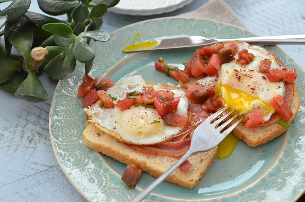 100 Days of Cookbooks: Olive Oil Poached Eggs