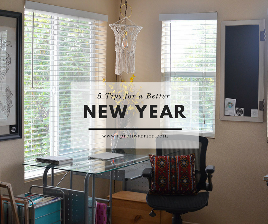 5 Tips for a Better New Year