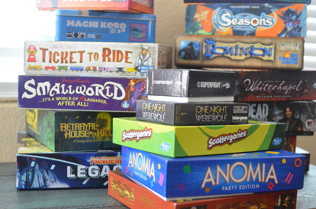 Planning a game night? There's games for every crowd!