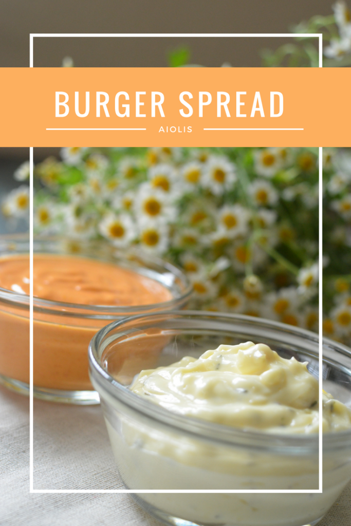 Try these easy to make burger spreads for your next BBQ!