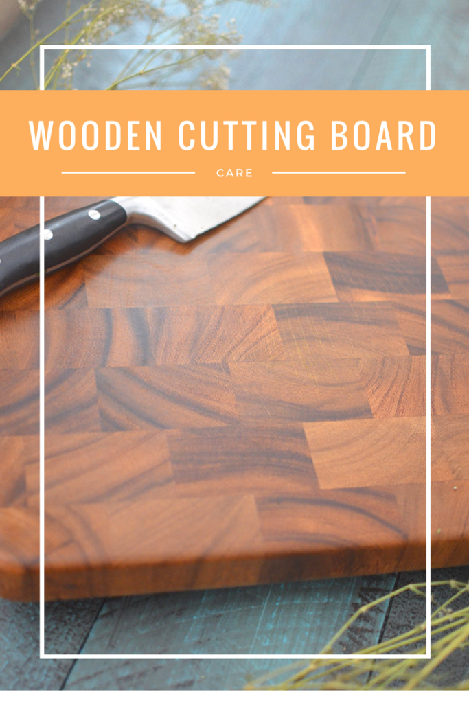Easy steps for keeping your cutting board looking great!