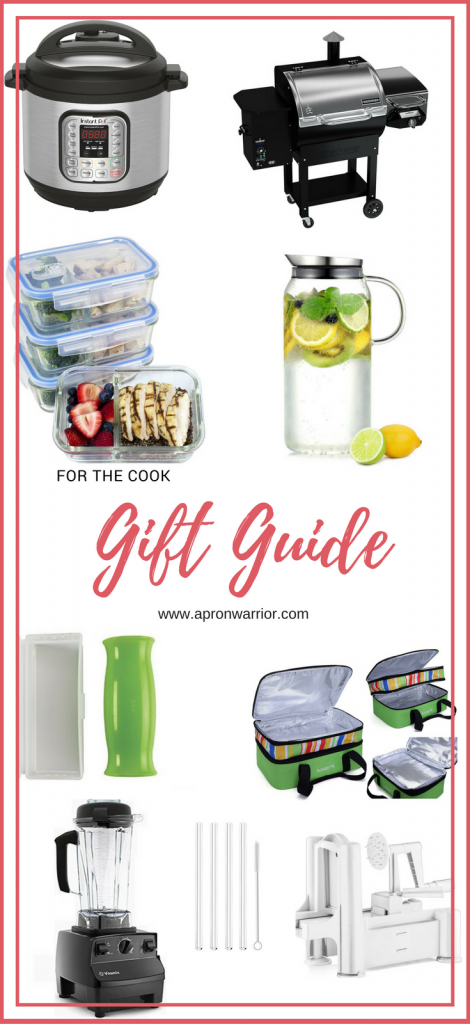 Use this gift guide to find the perfect gift for the cook in your life!