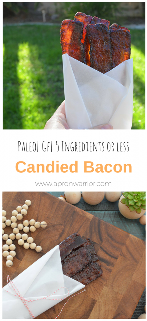 Paleo Candied Bacon