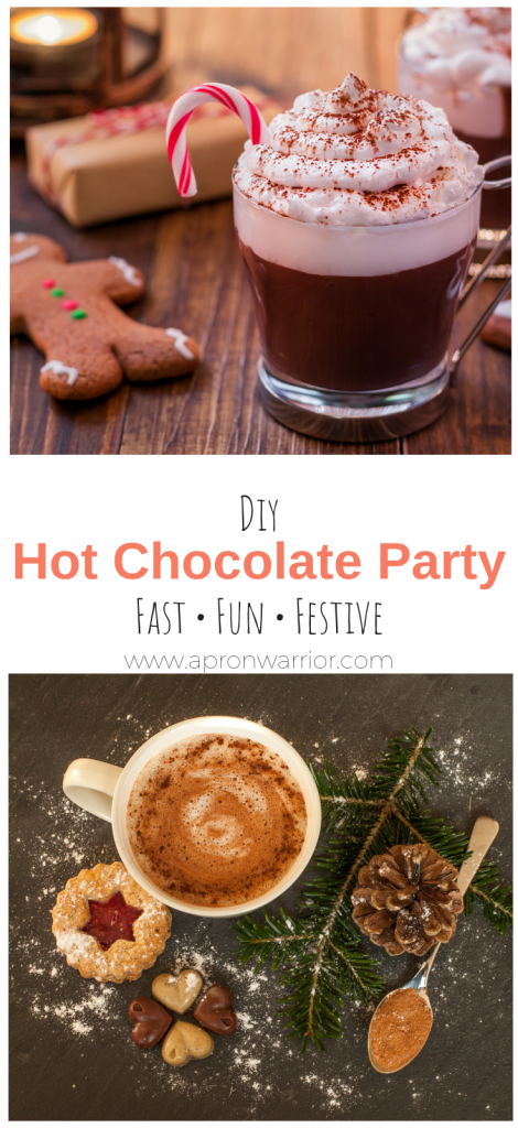 DIY Hot Cocoa Party for the busy mama!