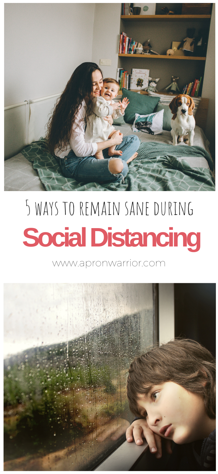 Social Distancing driving you crazy? Check out these tips to help!