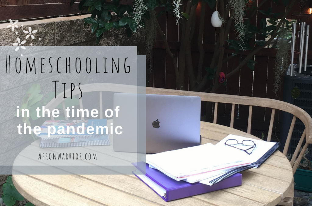Homeschooling Tips in the Time of the Pandemic